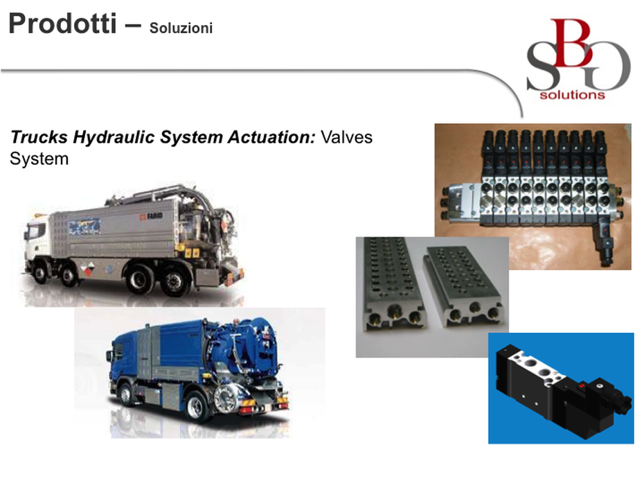 Trucks Hydraulic System Actuation